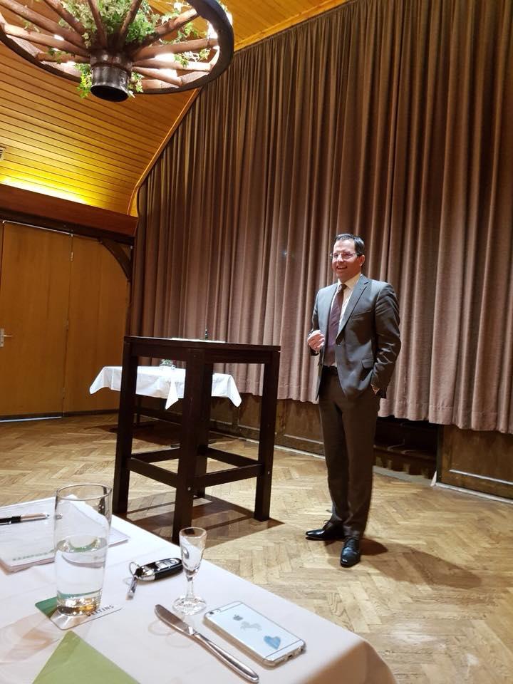 Generalsekretär Kai Seefried zu Gast in Osten